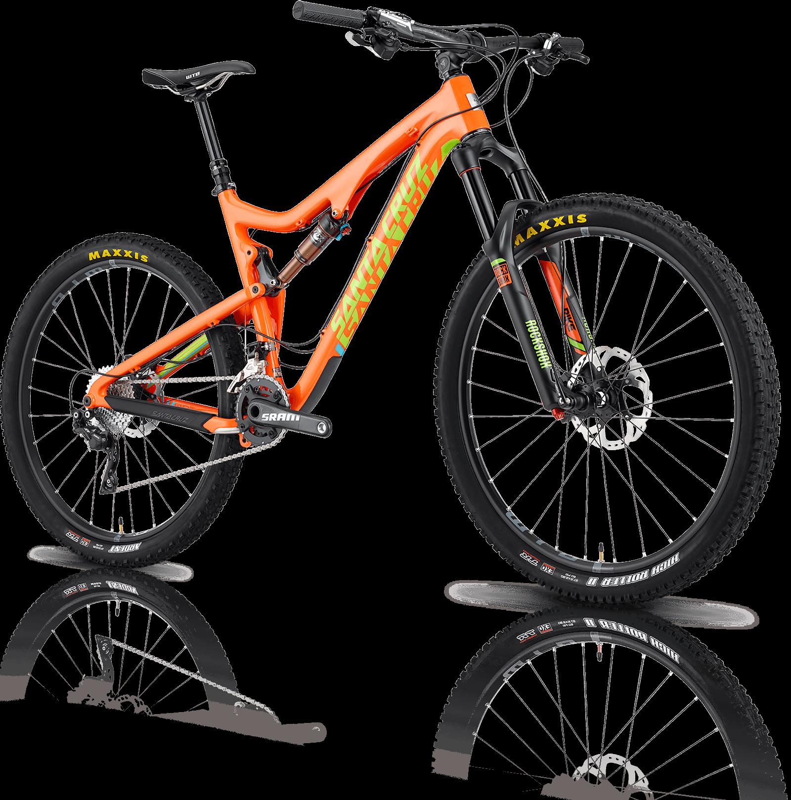 Santa Cruz - Busker fietsen