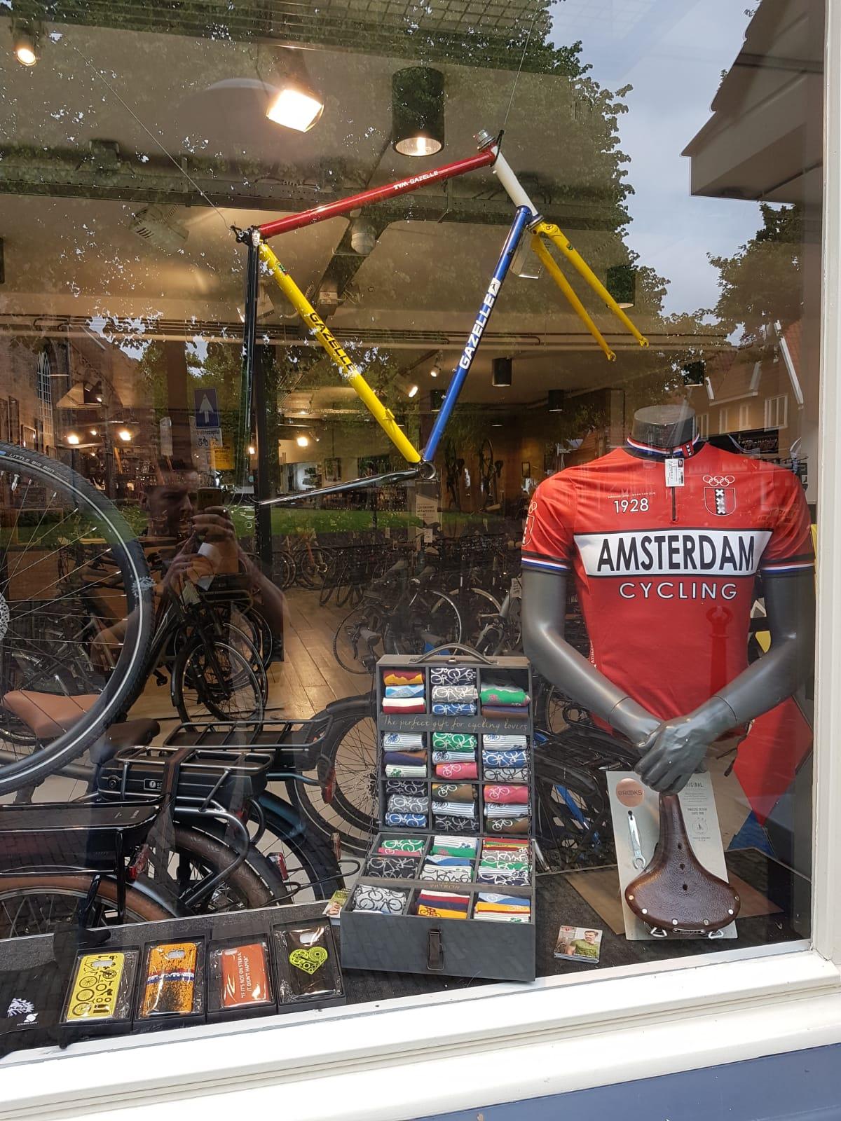 retro casual fietskleding
